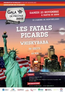 LES FATALS PICARDS + WHISKYBABA + 58 SHOTS – Axone – Montbéliard (25)