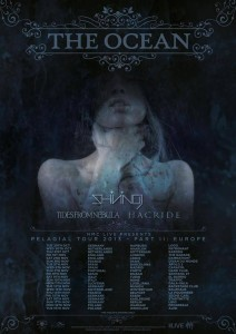 THE OCEAN + HACRIDE + SHINING + TIDES FROM NEBULA – Poudrière – Belfort (90)