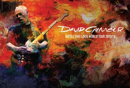[LIVE REPORT] DAVID GILMOUR – Rattle That Lock World Tour – 16/07/2016 – Chantilly