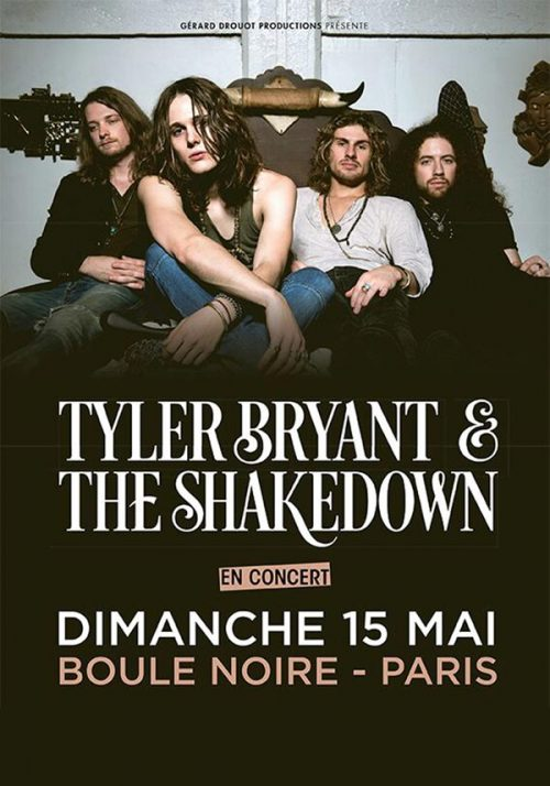 TYLER BRYANT AND THE SHAKEDOWN - 15-05-2016