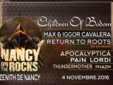 [LIVE REPORT] NANCY ON THE ROCKS – Zénith de Nancy – 04.11