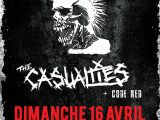 [PREVIEW] THE EXPLOITED + THE CASUALTIES + CODE RED – 16.04 – Secret Place – Montpellier (34)