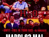 [PREVIEW ] MADBALL+ H2O + UNFIT + FULL IN YOUR FACE + DJ HUGAUZE – 2.05 – Secret Place – Montpellier ( 34)